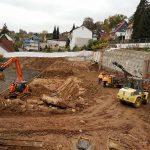 Neubau Asklepios Klinikum Melsungen - Baugrubensicherung